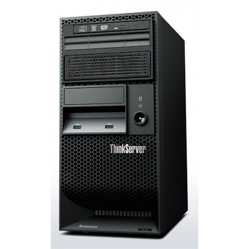 картинка 70A4003KRU	ThinkServer TS140 G3240 NHP Tower(4U)/2C 3.1GHz(3Mb)/1x4GbUD(1600)/Raid 100(0/1/10/5)/noH от магазина Одежда+